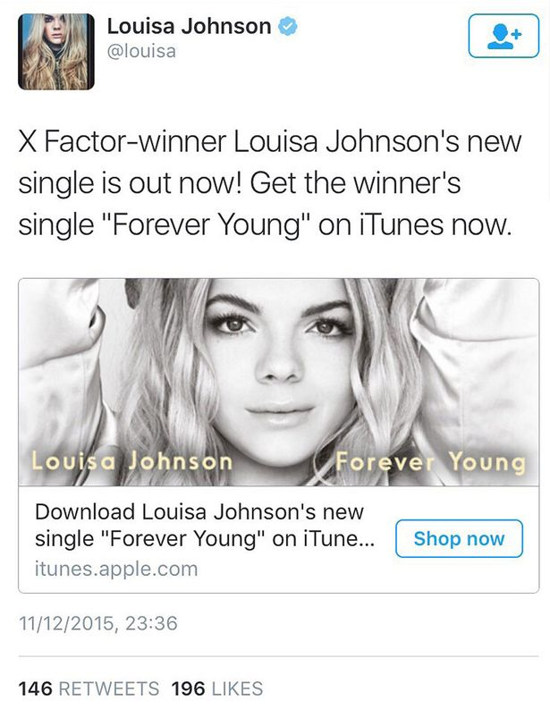 louisa-johnson-tweets-about-album-release-before-results